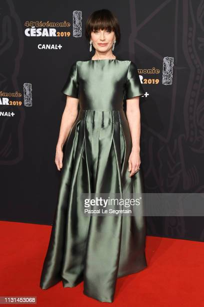 Kristin Scott Thomas attends Cesar Film Awards 2019 at Salle Pleyel on February 22 2019 in Paris France