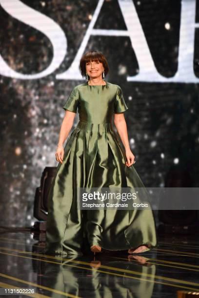 Kristin Scott Thomas attends the Cesar Film Awards 2019 at Salle Pleyel on February 22, 2019 in Paris, France.