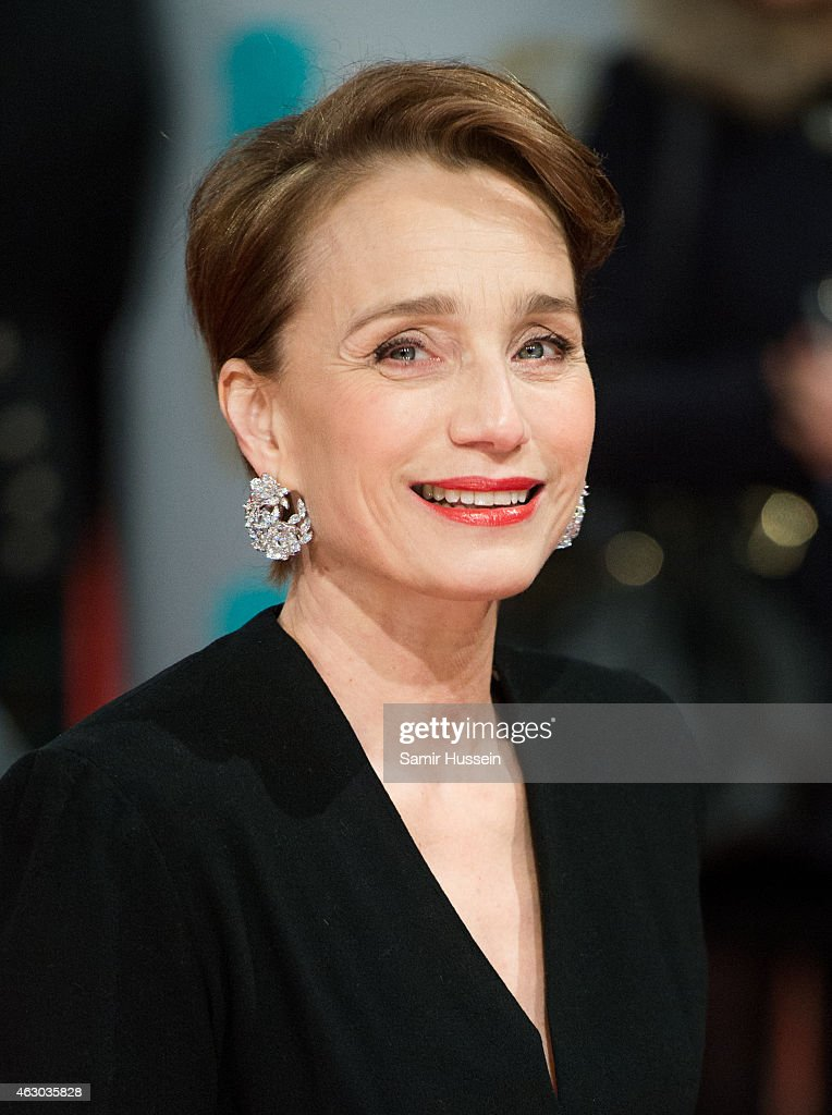 Kristin Scott Thomas attends the EE British Academy Film Awards at The Royal Opera House on February 8, 2015 in London, England.