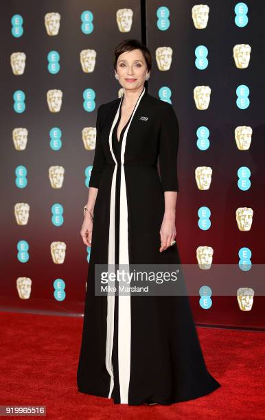 Kristin Scott Thomas attends the EE British Academy Film Awards held at Royal Albert Hall on February 18 2018 in London England