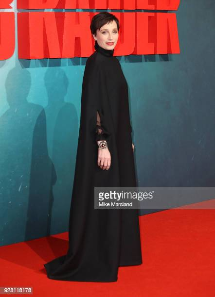 Kristin Scott Thomas attends the European premiere of 'Tomb Raider' at Vue West End on March 6 2018 in London England