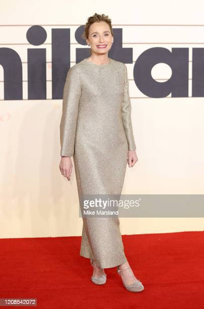 Kristin Scott Thomas attends the Military Wives UK Premiere at Cineworld Leicester Square on February 24 2020 in London England