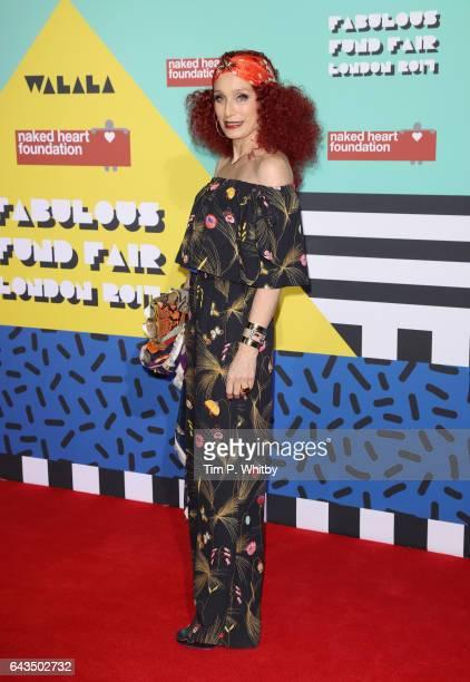 Kristin Scott Thomas attends The Naked Heart Foundation's London's Fabulous Fund Fair on February 21 2017 in London United Kingdom