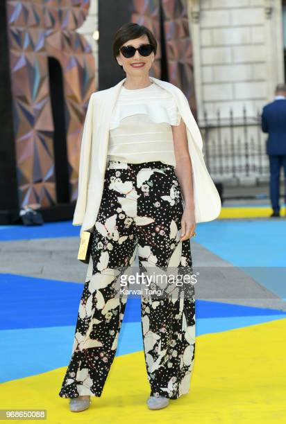 Kristin Scott Thomas attends the Royal Academy of Arts Summer Exhibition Preview Party at Burlington House on June 6 2018 in London England