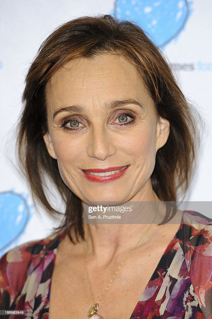Kristin Scott Thomas attends the UK Premiere of 'Finding Family' at Vue West End on November 5, 2013 in London, England.