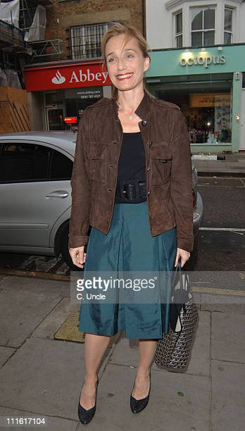Kristin Scott Thomas during Grand Classics' Le Mepris VIP Screening at The Electric Cinema 191 Portobello Road W10 in London United Kingdom