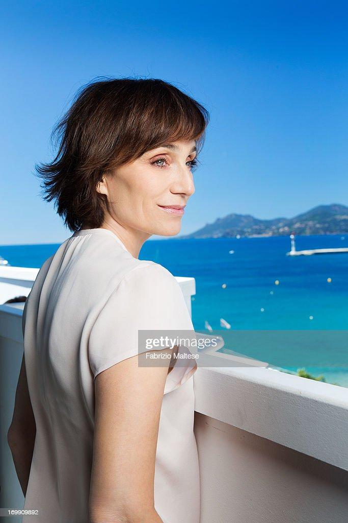 Kristin Scott Thomas, The Hollywood Reporter, May 2013 : News Photo