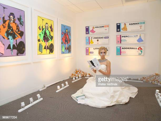 Kristin Simmons Art during The Chashama Gala at 4 Times Square on June 7 2018 in New York City