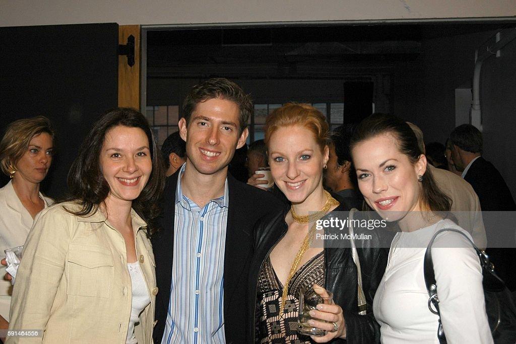 Kristin van Kipnis Ted Caplow Pascale van Kipnis and Carrie Lee Riggins attend Jock