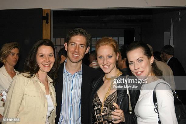 Kristin van Kipnis Ted Caplow Pascale van Kipnis and Carrie Lee Riggins attend Jock Soto's Retirement from New York City Ballet Celebration at Super...