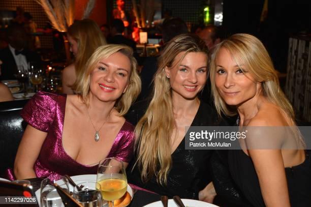 Kristina Alexandra Kovalyuk Elena Ulansky and Indira Cesarine attend the Many Hopes Spring Ball 2019 at Edison Ballroom on May 7 2019 in New York City