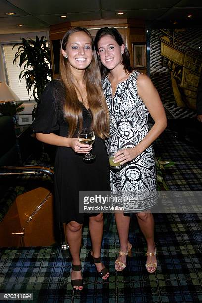 Kristina Anderson and Kyra Rosow attend SPACE ADVENTURE'S 10th ANNIVERSARY Celebration at Forbes Highlander Yacht on June 11 2008 in New York City