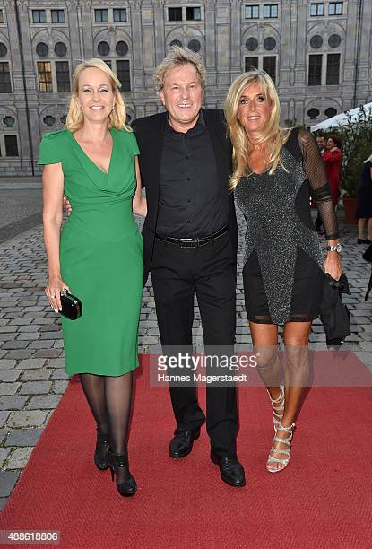Kristina Bach Bernhard Brink and his wife Ute Brink during the 'Jose Carreras Foundation Celebrates Its 20th Anniversary' at Kaisersaal on September...