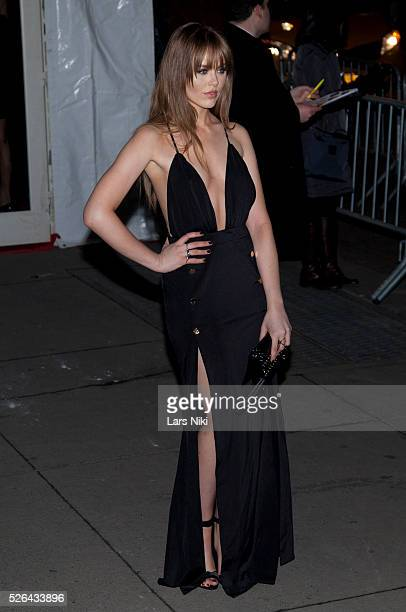 Kristina Bazan attends the '2016 amfAR' New York Gala outside arrivals at Cipriani Wall Street in New York City �� LAN
