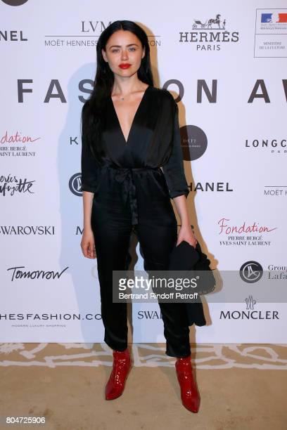 Kristina Bazan attends the ANDAM 2017 Prize Winner Cocktail at Ministere de la Culture on June 30 2017 in Paris France