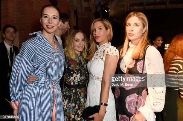 Kristina Blahnik Joanna Froggatt Laura Pradelska and Franchesca Hodge attend as Marriott International celebrates worldclass loyalty programme with...