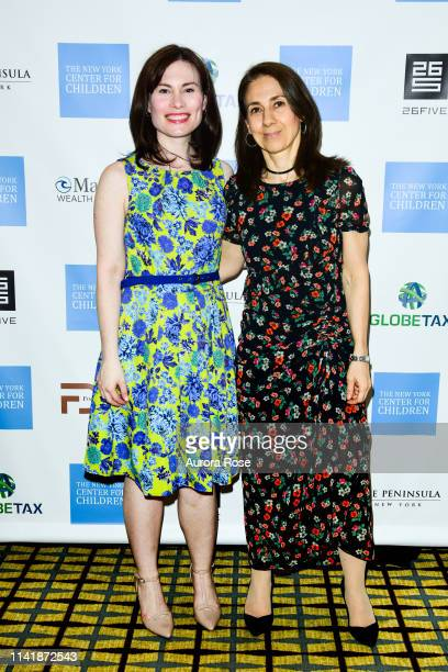 Kristina Brown and Florence Dupont attend The New York Center For Children Magic Of Hope Spring Benefit 2019 at the Peninsula New York on May 6 2019...