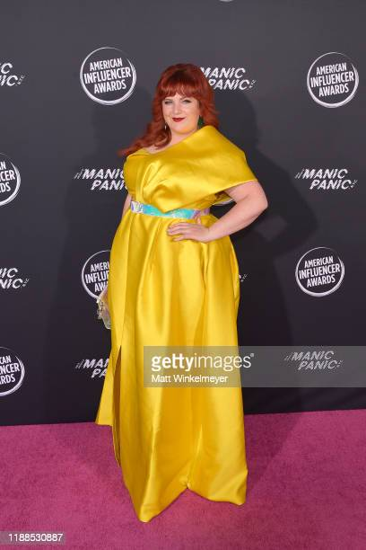 Kristina Cheeseman attends the 2nd Annual American Influencer Awards at Dolby Theatre on November 18 2019 in Hollywood California