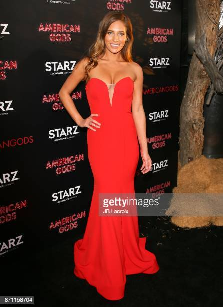 Kristina Colonna attends the premiere Of Starz's 'American Gods' on April 20 2017 in Hollywood California