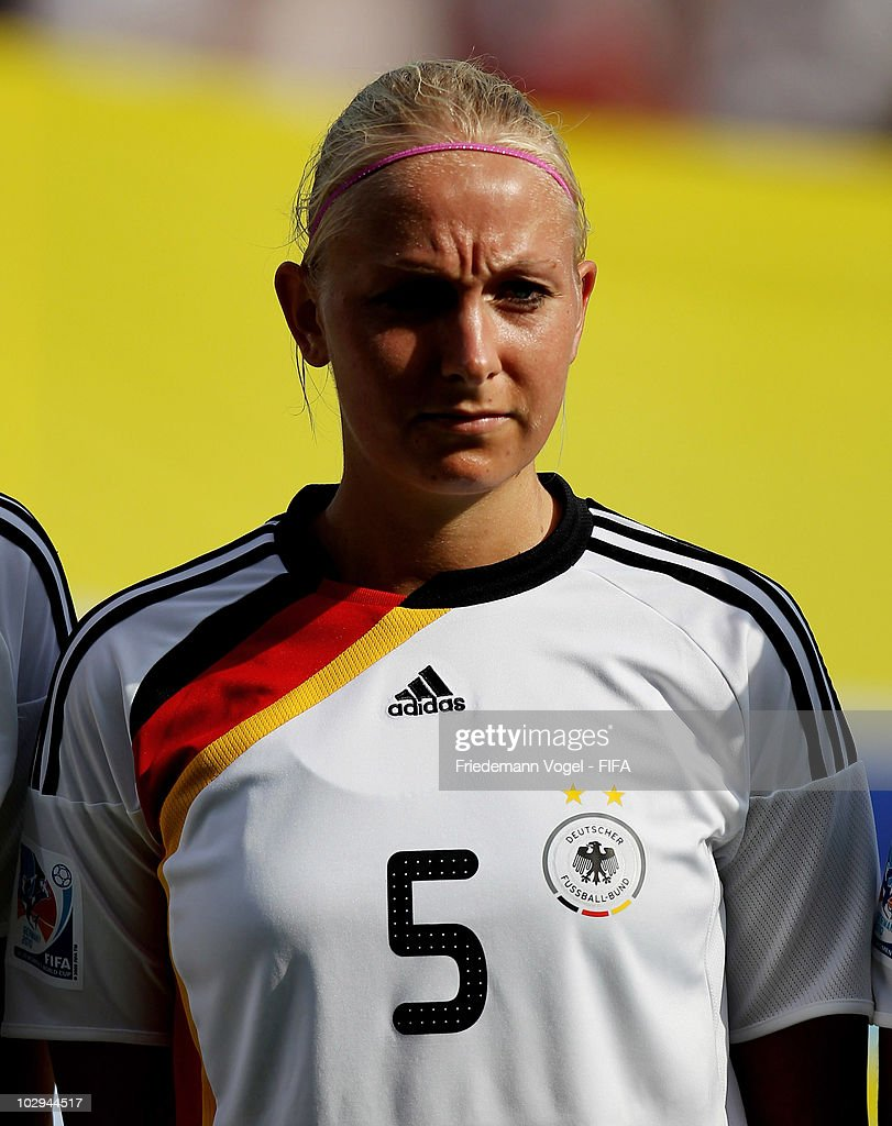 Kristina Gessat of Germany poses during the FIFA U20 Women's World Cup Group A match between Germany and Colombia at the FIFA U-20 Women's Worl Cup stadium on July 16, 2010 in Bochum, Germany.