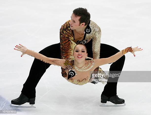Kristina Gorshkova and Vitali Butikov of Russia compete in the Ice Dance Free Dance during of the ISU Grand Prix of Figure Skating 2010/2011 Cup of...