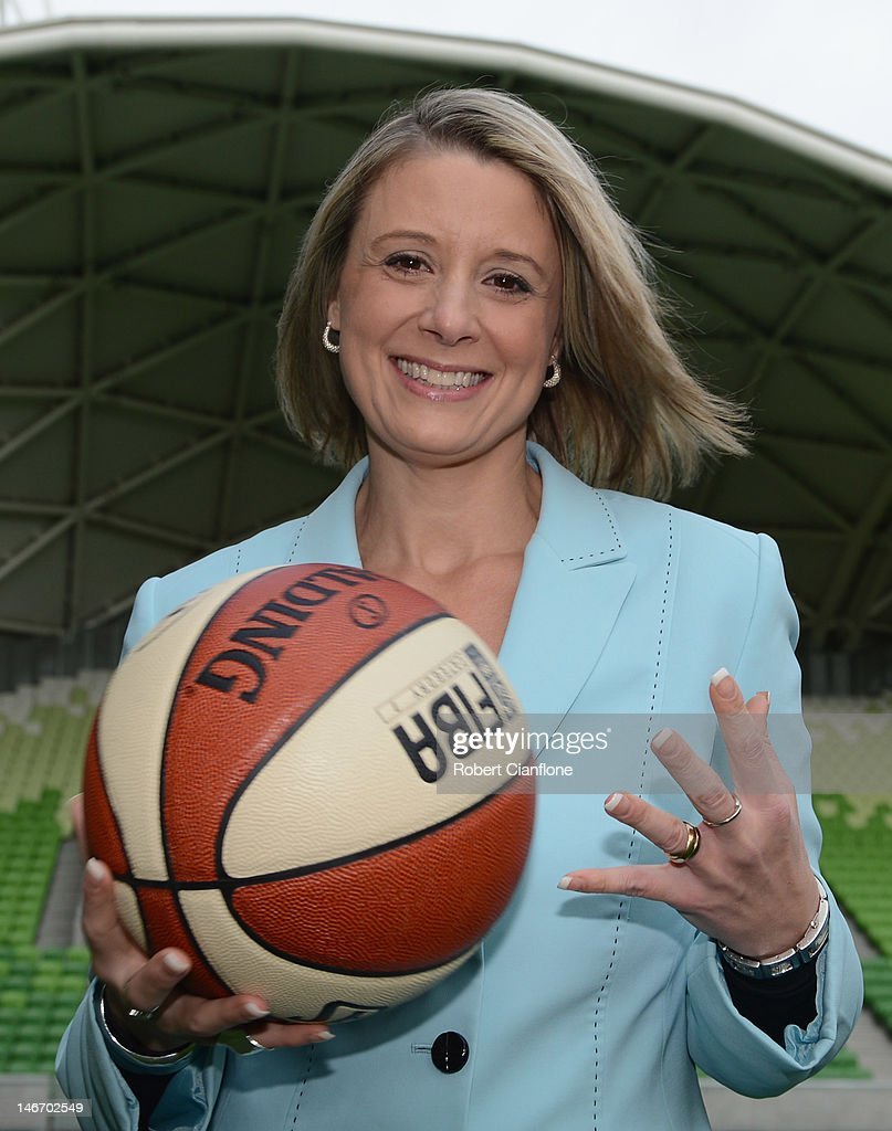 Kristina Keneally CEO of Basketball Australia poses after a press call to announce a new partnership between the Australian Government and 12 National Sporting Organisations to reduce the influence of alcohol promotion on young Australian at AMMI Park on June 23, 2012 in Melbourne, Australia.