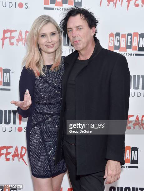 """Kristina Klebe and Sean Decker attend the Los Angeles Premiere of Roxwell Films """"I Am Fear"""" at Laemmle Monica Film Center on February 20 2020 in..."""