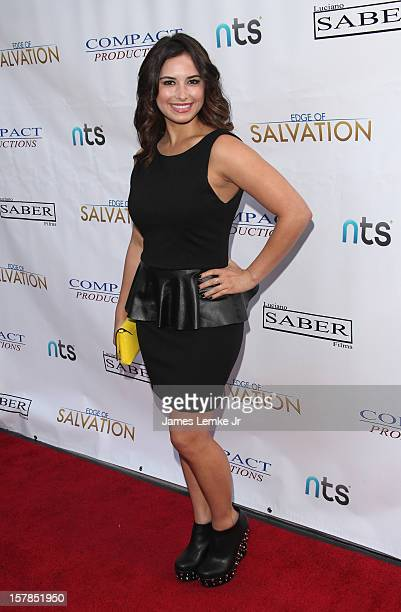 Kristina Kruz attends the Edge Of Salvation Los Angeles Premiere held at the ArcLight Sherman Oaks on December 6 2012 in Sherman Oaks California