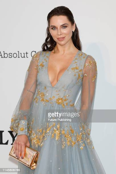 Kristina Liliana Chudinova at the amfAR Cannes Gala 2019 at Hotel du CapEdenRoc on May 23 2019 in Cap d'Antibes France