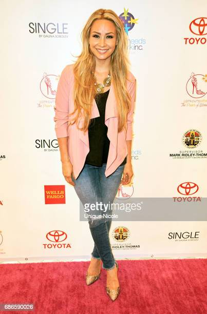 Kristina Lopez TLopez attends the Special Needs Network's Pink Pump Affair Gala And Fundraiser at Four Seasons Hotel Los Angeles at Beverly Hills on...