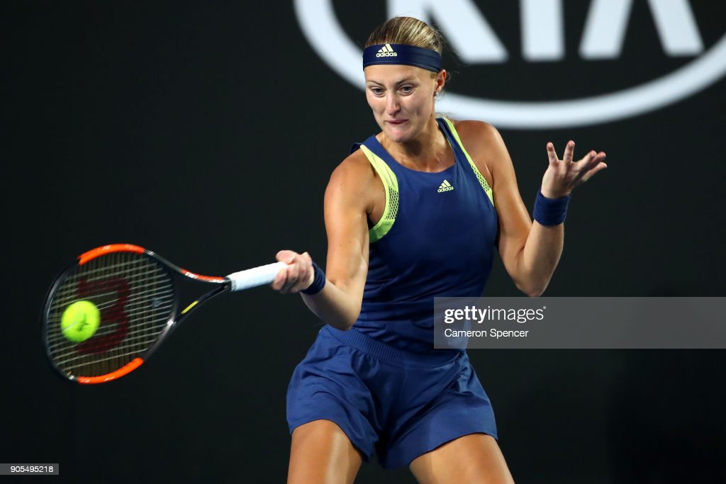 2018 Australian Open - Day 2 : News Photo