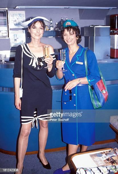 Kristina Nel Conny Glogger PRO 7 Serie Glueckliche Reise Folge 9 Australien Hayman Island/Grosses BarrierRiff/Australien auf der LuxusYacht Sun...