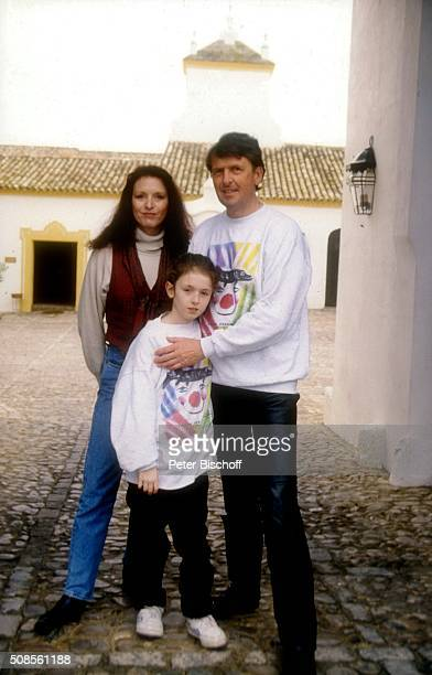 Kristina Nel Ehemann Helmut Förnbacher Tochter Sandra Nel am Rande vom ZDFFilm Ein unvergeßliches Wochenende in Sevilla am im Hotel Hazienda Benazuza...