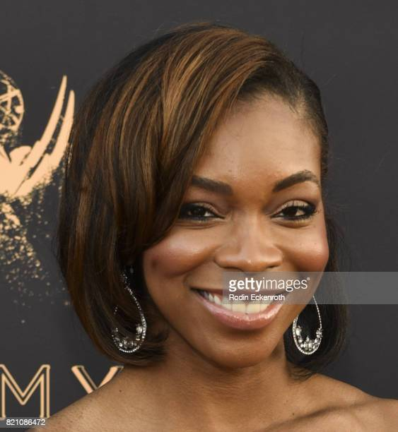 Kristina Pink attends 69th Los Angeles Area Emmy Awards at Television Academy on July 22 2017 in Los Angeles California
