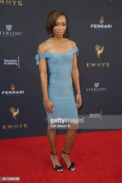 Kristina Pink attends the 69th Los Angees Area Emmy Awards at Television Academy on July 22 2017 in Los Angeles California