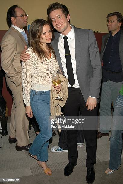 Kristina Ratliff and Chris Griffin attend THE CINEMA SOCIETY presents the NY Premiere of First Look Pictures' THE PROPOSITION Afterparty at Soho...