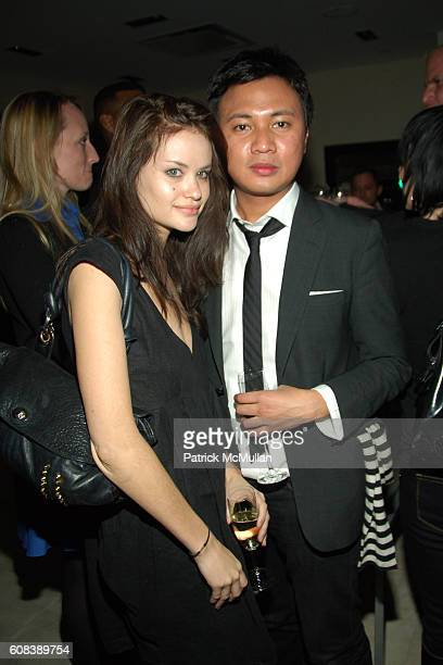 Kristina Ratliff and Ryan Urcia attend PROENZA SCHOULER Cocktail Party for Jack McCollough and Lazaro Hernandez hosted by BERGDORF GOODMAN and CHLOè...