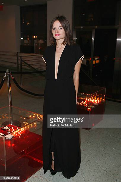 Kristina Ratliff attends charity ball Hosted by Adrian Grenier and Jessica Stam with Scott Harrison at Metropolitan Pavilion at The Metropolitan...