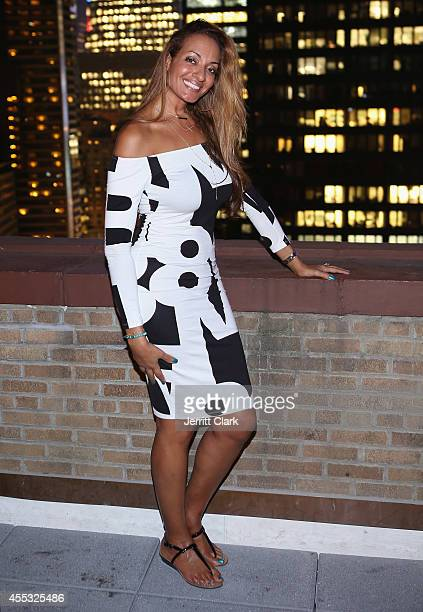 Kristina Ratliff attends the National Basketball Wives Association's Behind The Bench Pampering Night at WestHouse Hotel on September 11 2014 in New...