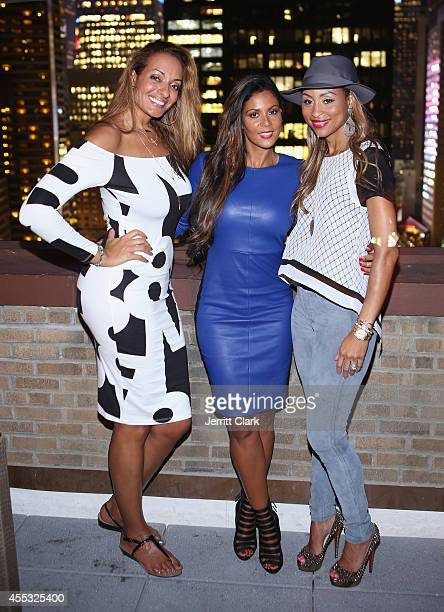 Kristina Ratliff Tai Eisley and Dee Dee AbdurRahim attend the National Basketball Wives Association's Behind The Bench Pampering Night at WestHouse...