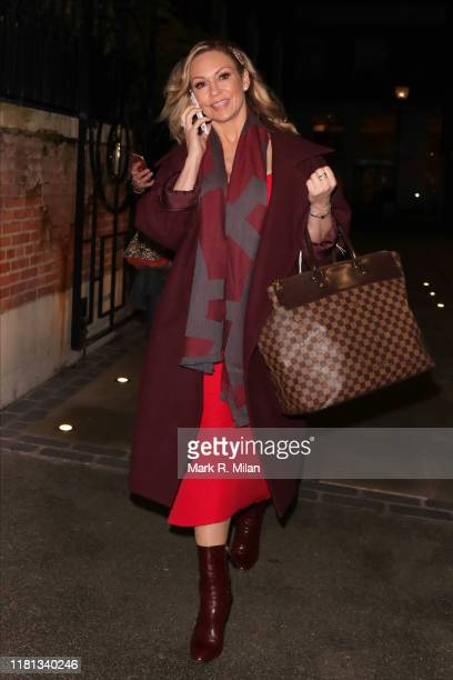 Kristina Rihanoff attending The Best Heroes Awards on October 15 2019 in London England