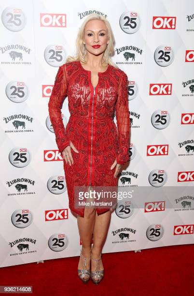 Kristina Rihanoff attends OK Magazine's 25th Anniversary Party at The View from The Shard on March 21 2018 in London England