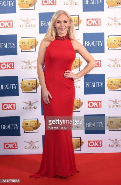 Kristina Rihanoff attends The Beauty Awards at Tower of London on November 28 2017 in London England