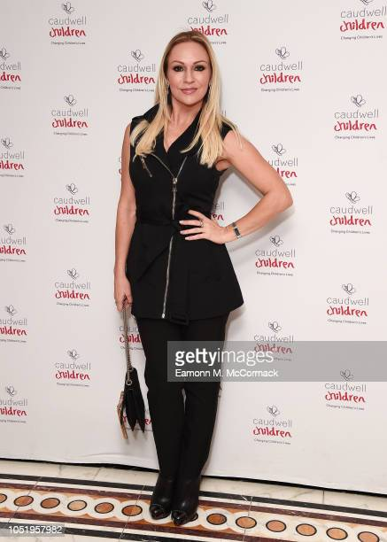 Kristina Rihanoff attends the Caudwell Children London Ladies Lunch held at The Dorchester on October 12 2018 in London England