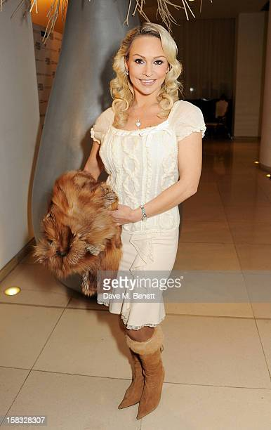 Kristina Rihanoff attends the English National Ballet Christmas Party at St Martins Lane Hotel on December 13 2012 in London England