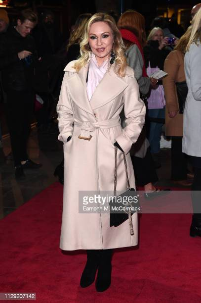 Kristina Rihanoff attends the press night of Rip It Up The 60's at Garrick Theatre on February 12 2019 in London England