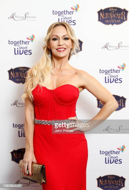 Kristina Rihanoff attends the Together For Short Livessss 'Nutcracker Ball' at One Marylebone on November 20 2018 in London England Money raised...