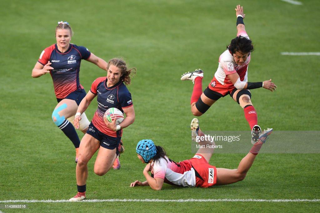 JPN: HSBC Women's Rugby Sevens Kitakyushu - Day 1
