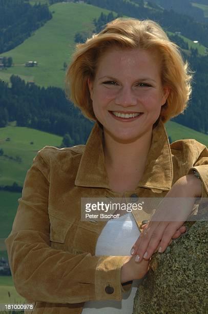 Kristina Sprenger Portrait Porträt ZDFSerie Soko Kitzbühel Folge Die Braut und der Tod alter Titel Eine Hochzeit und ein Todesfall Kitzbühel/...