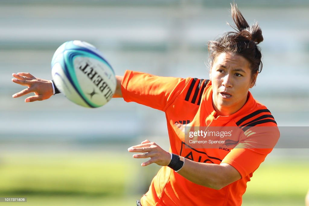 New Zealand Black Ferns Training Session